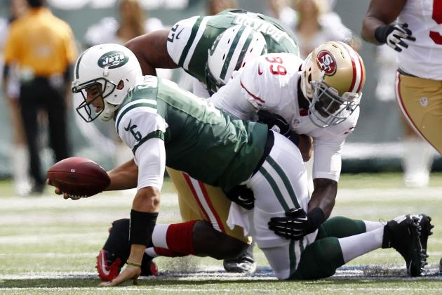 Mark Sanchez: Embattled Jets QB Should Have Short Leash vs. Texans