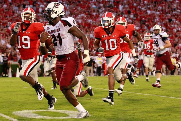 College Football Week 6 Schedule: When to Catch Games with BCS Implications