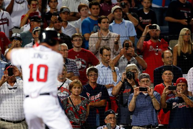 Atlanta Braves: Chipper Jones' Goodbye Tainted with Loss, Fan Actions