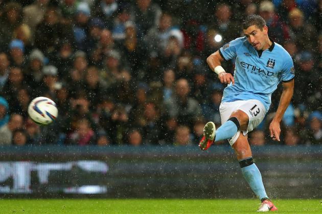 Gifs : Aleksandar Kolarov's awesome free-kick V Sunderland