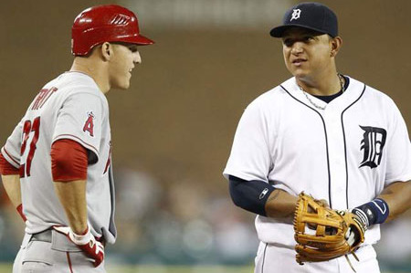 Debate: Who Is the American League MVP, Mike Trout or Miguel Cabrera?