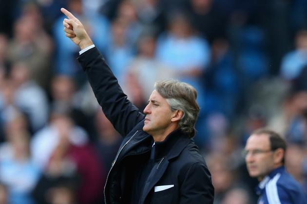 Manchester City on the Up, Says Roberto Mancini