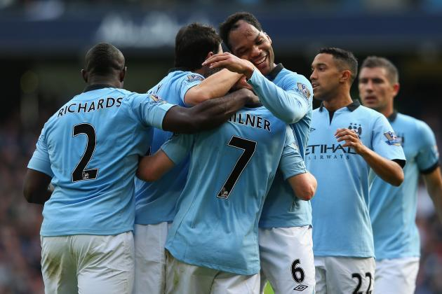 Manchester City 3-0 Sunderland: Rating the Blues Players in Big Win