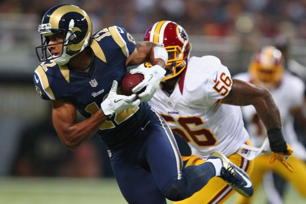 St. Louis Rams: Breaking Down Steve Smith's Role with Danny Amendola out