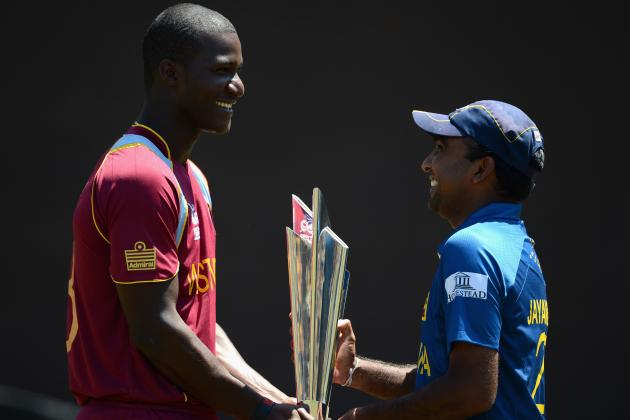 T20 World Cup 2012: West Indies Will Be Too Much for Sri Lanka in Tourney Finals