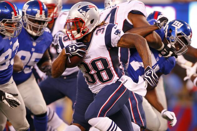 Brandon Bolden: Why Patriots' Rookie RB Isn't a Viable Fantasy Option Yet