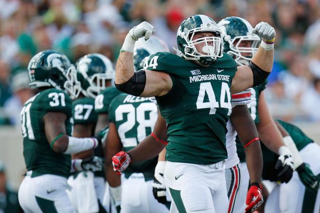Six Personal Foul Penalties by Sparty Equals 13-Point Halftime Lead for Indiana