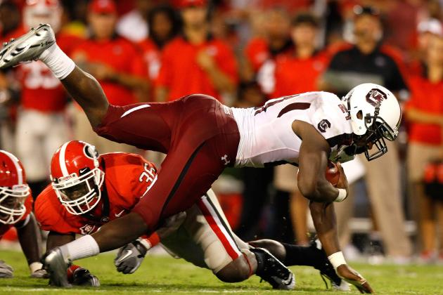 Georgia vs. South Carolina: Matchups That Will Decide Top-10 Showdown