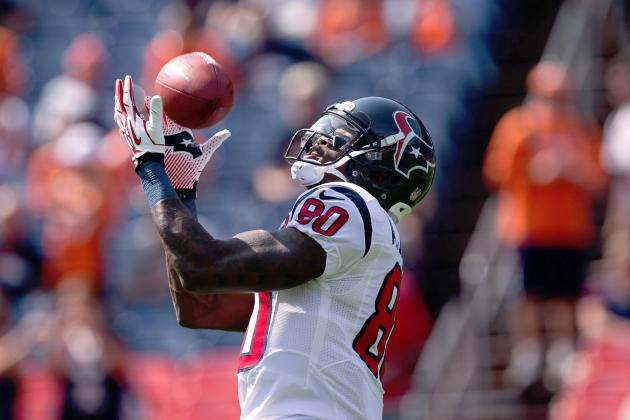 Andre Johnson: Houston Texans' WR Is a Must-Start vs. Jets Despite Groin Injury