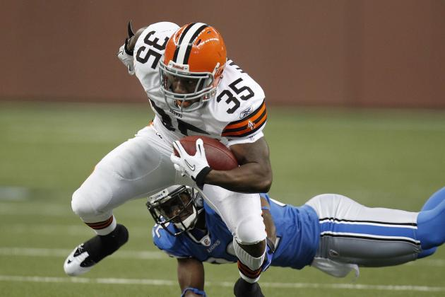 Cribbs Says Jerome Harrison Is Dealing with Seizures