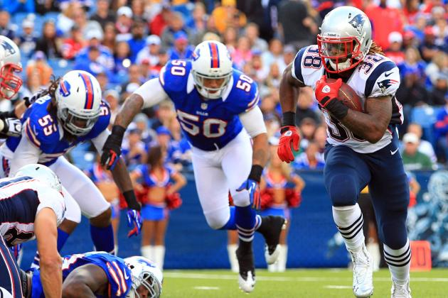 Brandon Bolden: Patriots RB Is Sneaky Fantasy Start at Flex Position