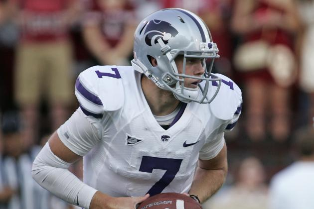 Hubert's 4 TDs Lead Rout, Keep K-State Perfect