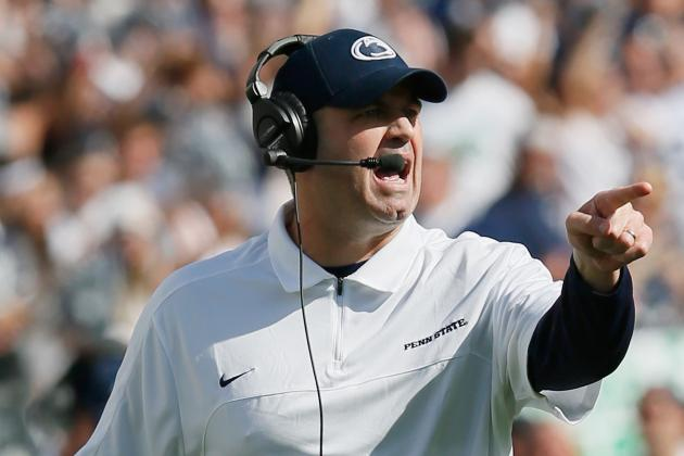 Penn State Football: Is Bill O'Brien the First-Half Coach of the Year?