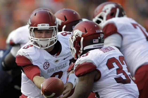 Arkansas vs. Auburn: Razorbacks No Longer Laughing Stock of SEC