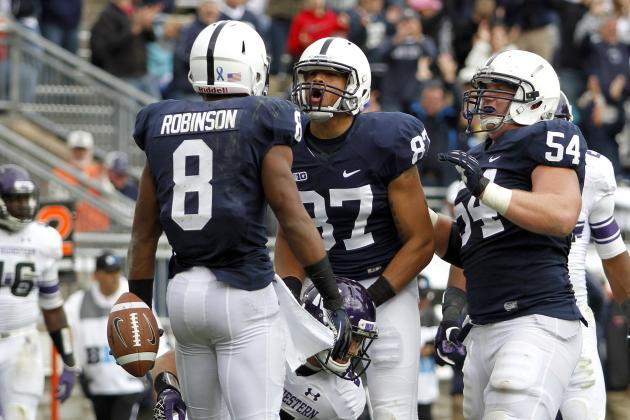 Northwestern vs. Penn State: PSU's Fight to the End Great Sign of Things to Come