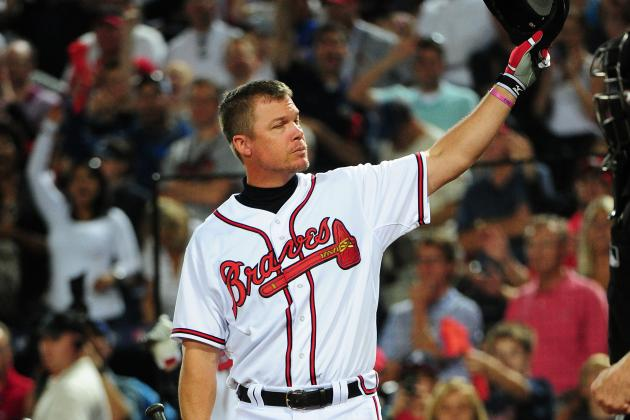Chipper Heads into Retirement at Peace