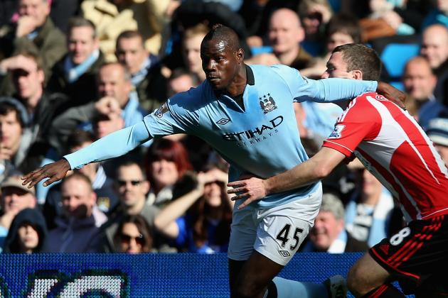 Man City Boss Mancini Ready to Dump Super Sulk Balotelli