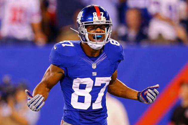 Hakeem Nicks: Giants Receivers Sure to Have a Big Day in Star's Absence