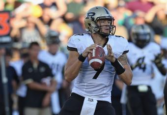 Purdue's Robert Marve has sparked a little offense -- but will it be enough? Time is of the essence...