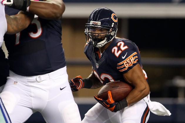 Matt Forte: Injury Won't Stop Bears RB from Dominating Weak Jaguars Defense