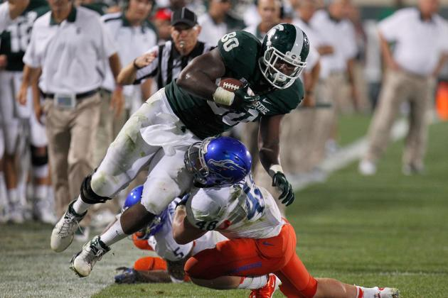 Michigan State Leading Receiver Dion Sims Leaves Indiana Game