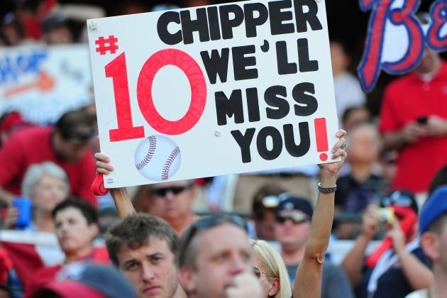 Chipper Jones: Braves Star's Last Game Was a Nightmare