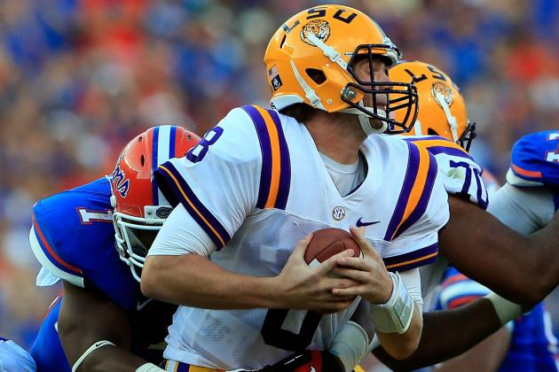 LSU Football: For Better or Worse, Tigers Are Stuck with Zach Mettenberger