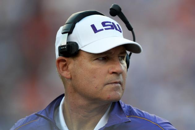 LSU Tigers: Les Miles Lovers Pizza with an Extra Topping of Excuses