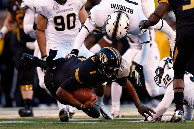 James Franklin Injury: Updates on Missouri QB's Knee