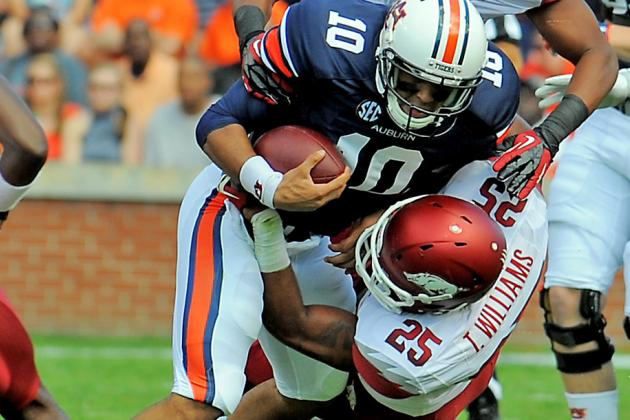 Auburn Football: Loss to Arkansas Highlights Tigers' Problems on Offense