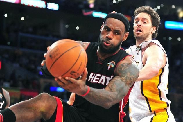Is Everyone Sleeping on the Miami Heat While Anointing L.A. Lakers in 2012-13?