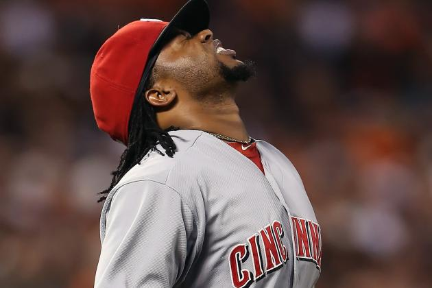 Johnny Cueto Injury: Reds Pitcher Leaves Game vs. Giants in 1st Inning
