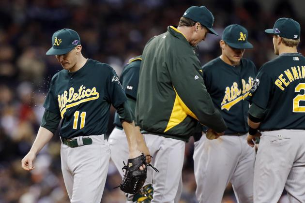 Tigers vs. Athletics: Is Starting on the Road Affecting A's Young Roster?