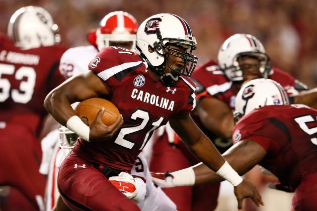 Georgia vs. South Carolina: Score, Twitter Reaction, Grades and More