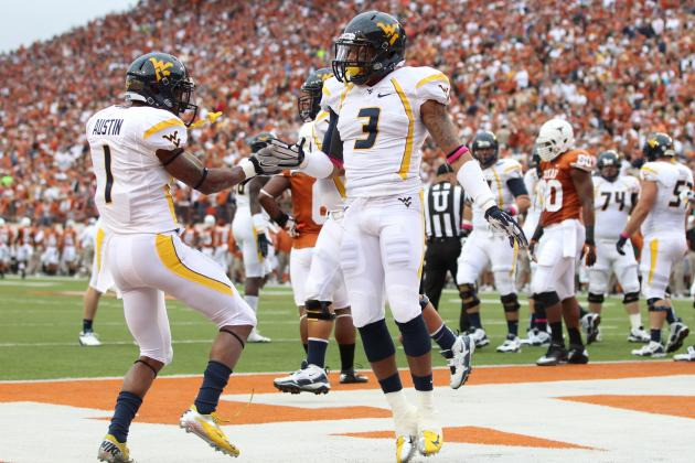 West Virginia Mountaineers Defeat Texas Longhorns with Overpowering Offense