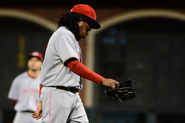 Giants vs. Reds: How Johnny Cueto's Injury May Actually Be SF's Downfall