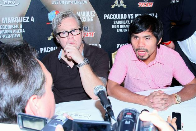 Pacquiao to Stop Freddie Roach's Losing Streak with Win over Marquez