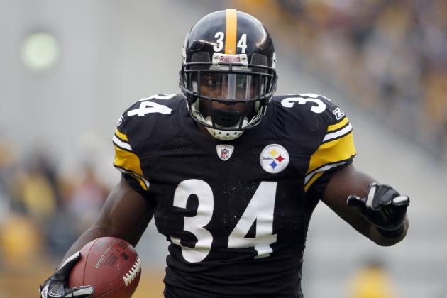 Rashard Mendenhall: Realistic Fantasy Expectations for Steelers RB vs. Eagles