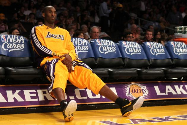Lakers Rumors: Latest on Kobe Bryant's Foot and More from L.A.'s Training Camp