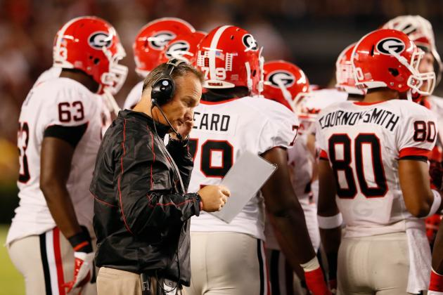 Mark Richt's Job Future in Doubt as Georgia Loses Big SEC Game to South Carolina