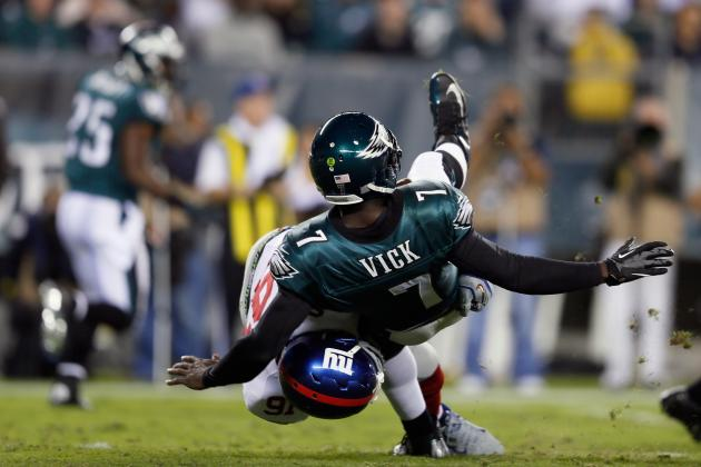 Philadelphia Eagles Offensive Woes: Michael Vick Is Only Half of the Problem