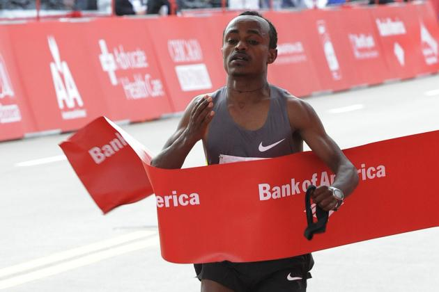 Chicago Marathon 2012: Tsegaye Kebede Proves He's Ready to Fulfill Early Promise