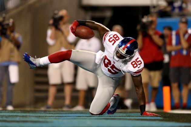 Martellus Bennett Injury: Updates on Giants TE's Knee