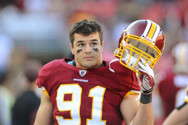 Falcons vs. Redskins: Ryan Kerrigan's Lackluster Jump into the Stands