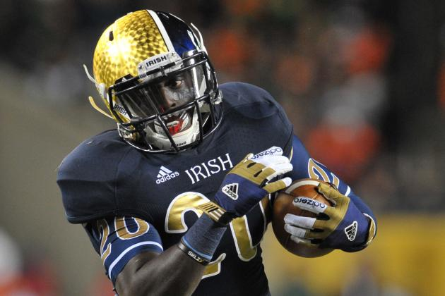 ND Ground Game Explodes in Rout of Canes