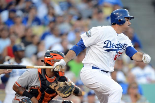 Adrian Gonzalez Sees Bright L.A. Future, Once He Fixes His Swing