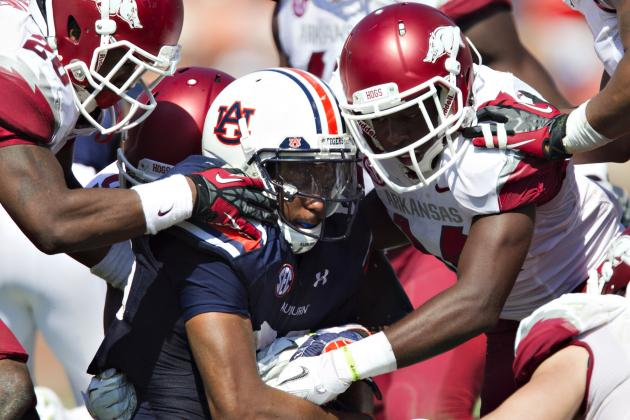 Punchless Auburn Offense Ranks Near the Bottom of the NCAA