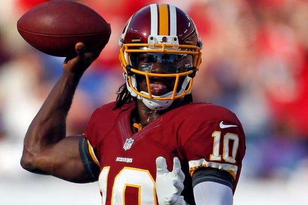 RG III Sent to Locker Room for Concussion Tests