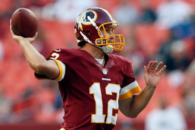 Kirk Cousins: Rookie QB Will Shine If  RG3 Is Forced to Miss Extended Time