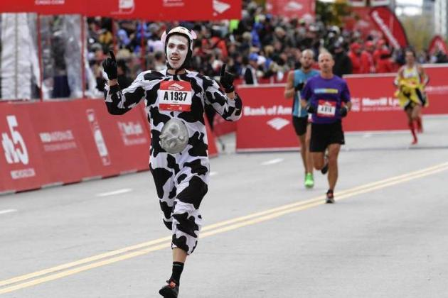 Chicago Marathon 2012: Best Photos from Annual World Marathon Major Event